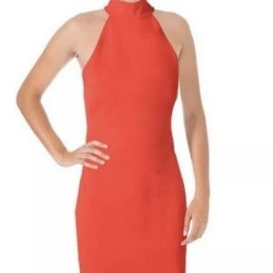 Lauren Ralph Lauren Red Halter Dress